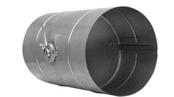 Дроссель-клапан для воздуховодов круглого сечения