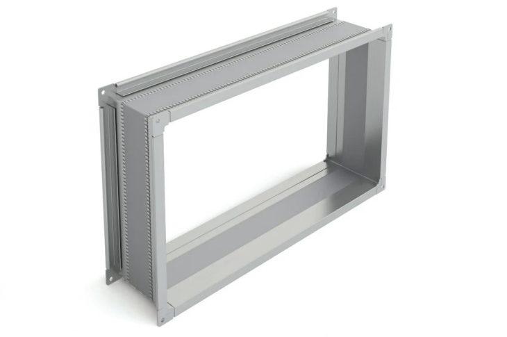 Гибкая вставка прямоугольная для вентиляции