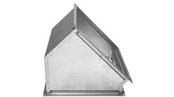 Отвод вентиляционный 45 градусов прямоугольного сечения