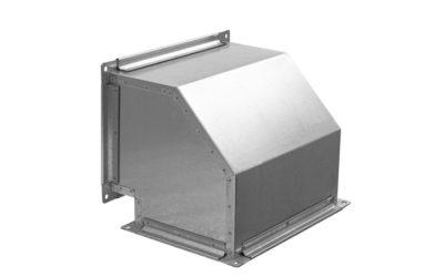 Отвод вентиляционный 90 градусов прямоугольного сечения