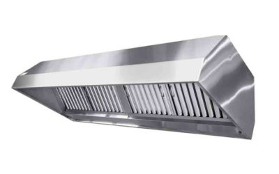 Зонт из нержавеющей стали с жироуловителем