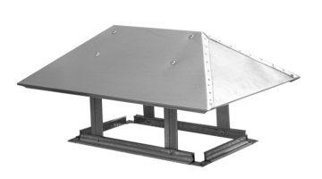 Зонт вентиляционный для прямоугольного воздуховода